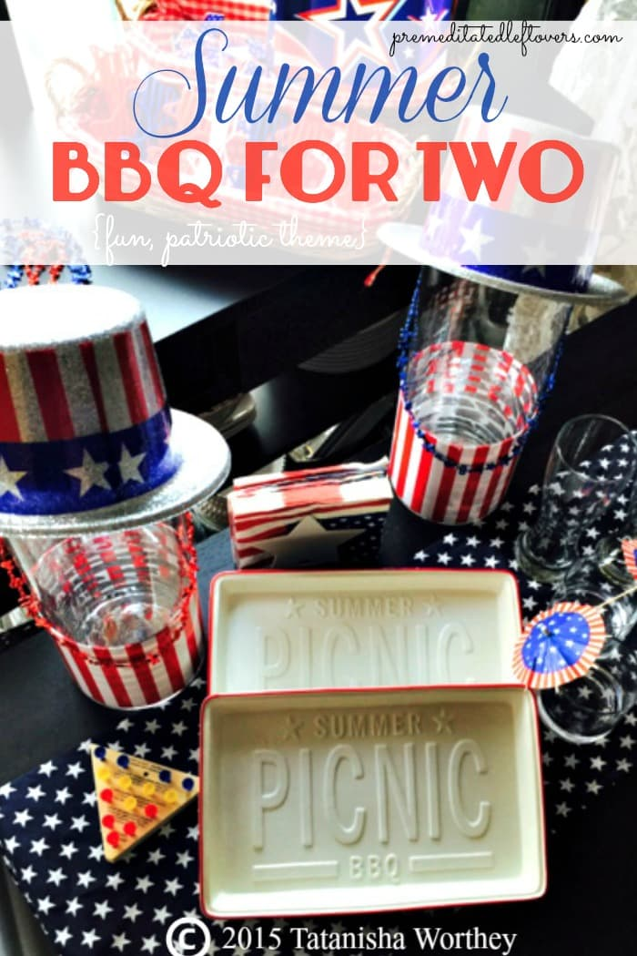 Plan a fun summer date night with a Summer BBQ For Two Picnic Idea