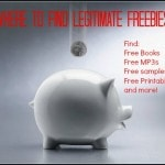 Where to Find Legitimate Freebies
