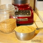 how to grind flax seeds in a blender to make flax meal or flax powder