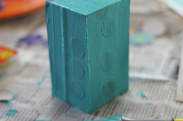 painted outdoor blocks tutorial