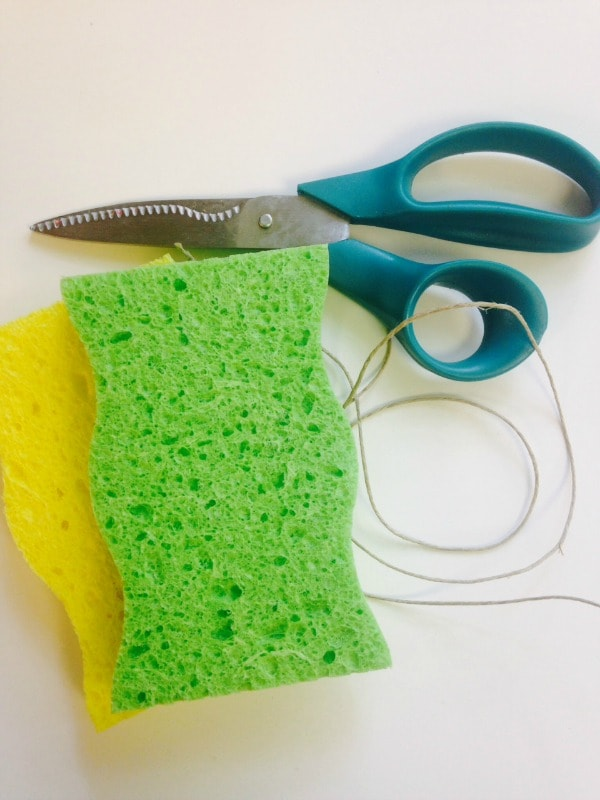 how to make water bombs with sponges