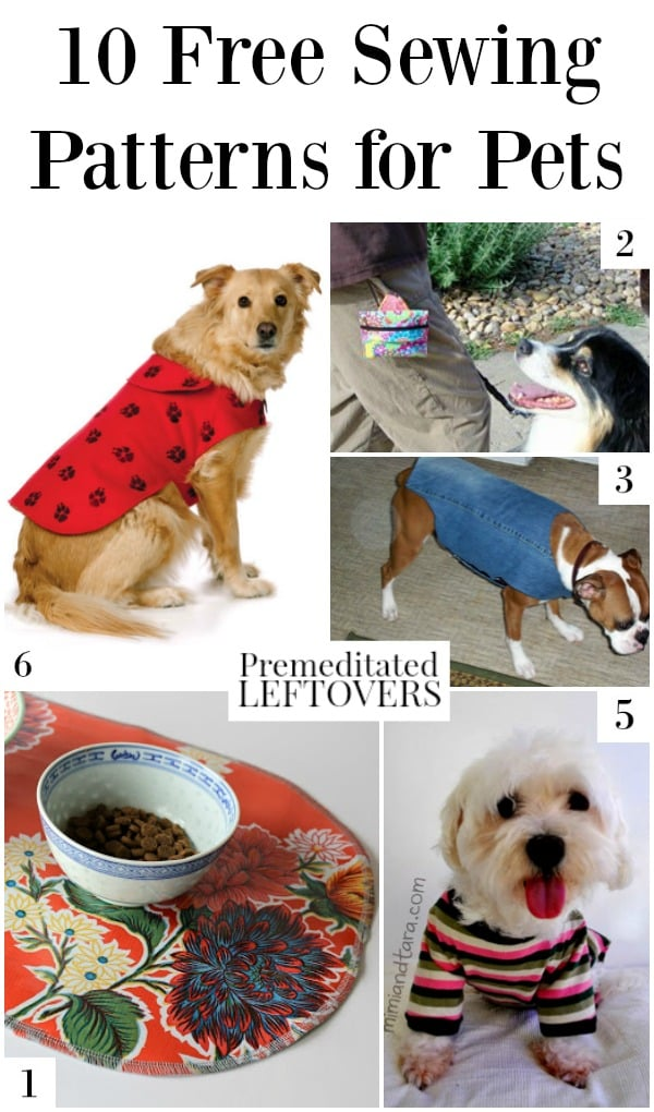 If you love to spoil your fur babies, makes sure you check out the 10 awesome and free sewing patterns for pets in this post!