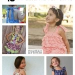 10 Free Romper Patterns for Girls including pillowcase rompers, ruffled rompers for toddlers, cute rompers to make and rompers for older girls.