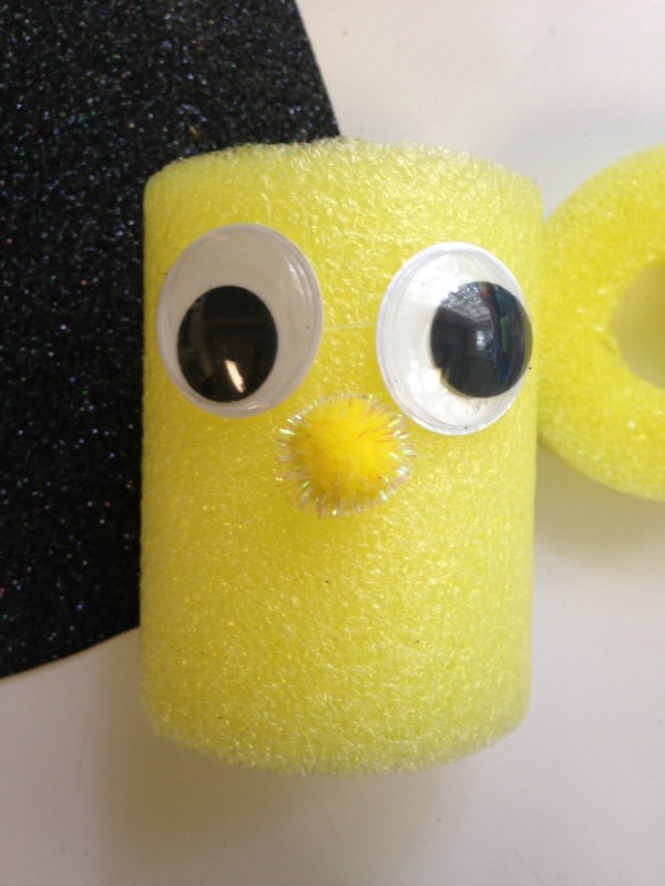 Pool Noodle Bumble Bee Tutorial