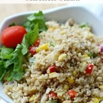 Easy Summer Couscous Chicken Salad