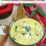 Creamy Tuscan White Bean and Chicken Soup