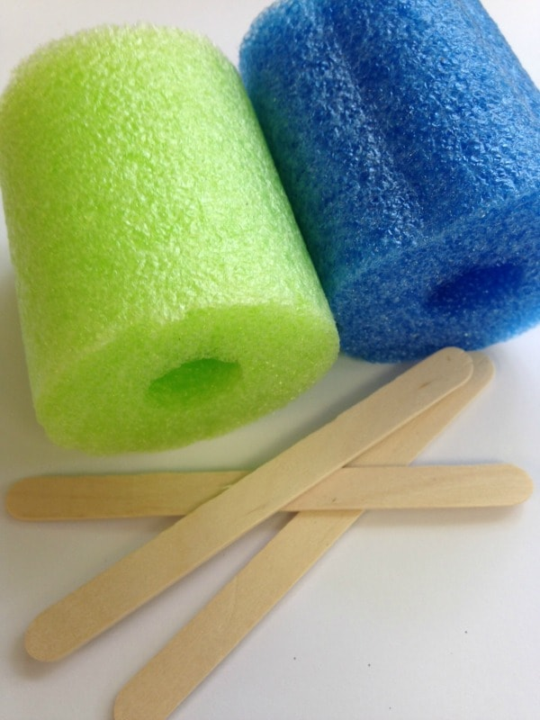 Pool Noodle Flower Craft Supplies