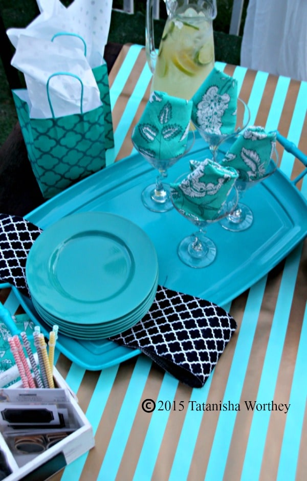 Girls Lunch Tablescape Idea