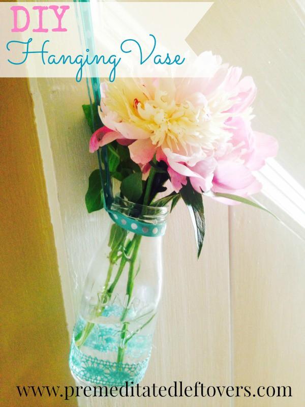 Diy Hanging Milk Bottle Vase