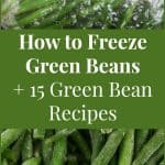 15 Green Bean Recipes + How to Freeze Green Beans
