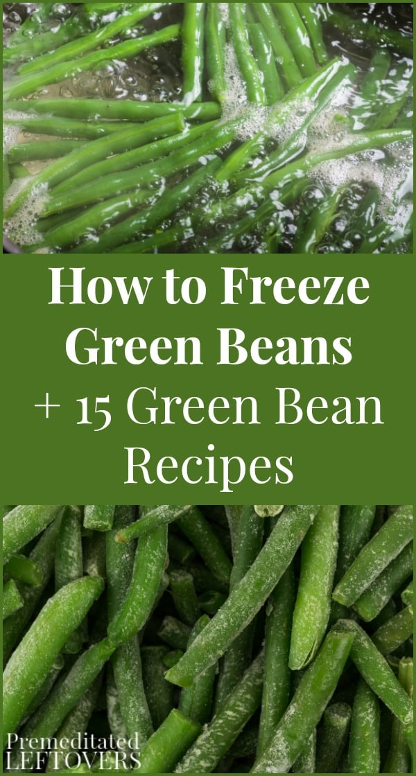 Learn how to freeze green beans and enjoy them in 15 delicious green bean recipes, including sides, main dishes, and snacks with green beans.