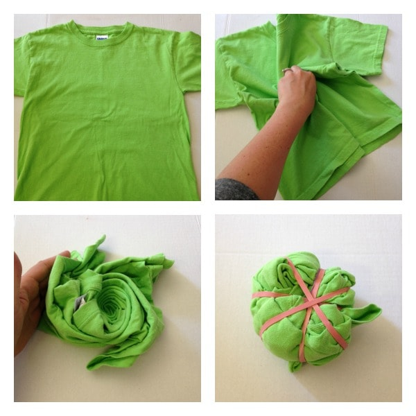 d0f4df9348d8d How to Reverse Tie-Dye a T-Shirt Using Bleach and Rubberbands