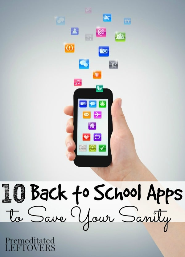 10 Back to School Apps to Save Your Sanity