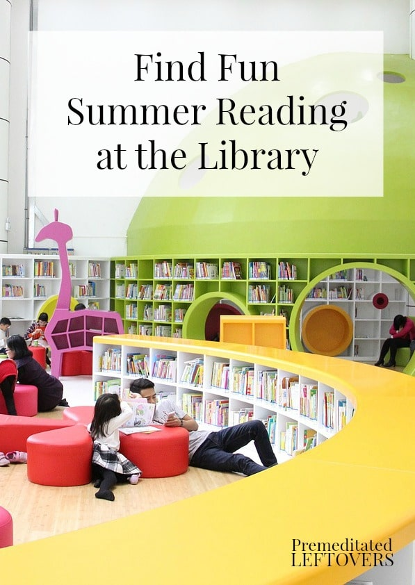 Check Your Local Library for Summer Reading Programs