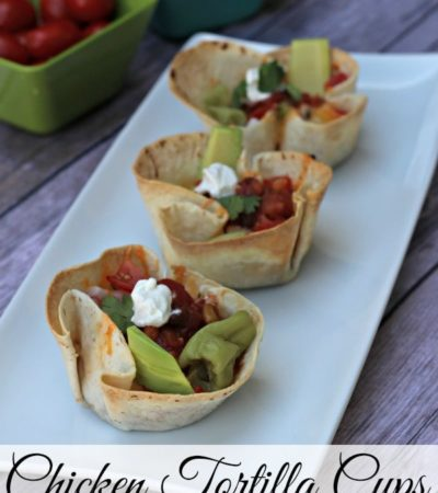 Homemade Chicken Tortilla Cups Recipe