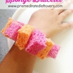DIY Cooling Sponge Bracelets for Kids