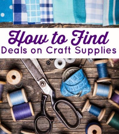How to Find Deals on Craft Supplies- There are many easy ways to find great deals on craft supplies. Use these money-saving tips the next time you restock.