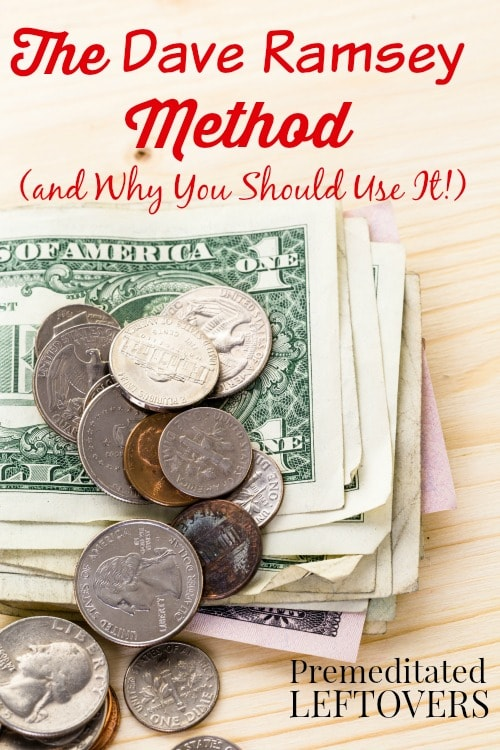 Why You Should Use the Dave Ramsey Method - An overview of the Baby Steps for getting your finances under control and how it can help you with your budget.