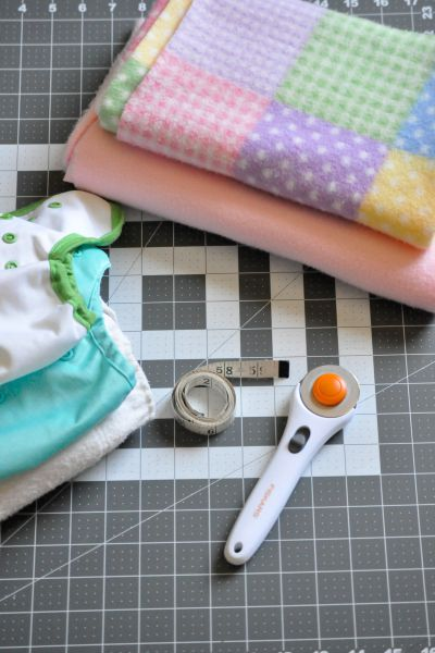 How to make no-sew diaper liners