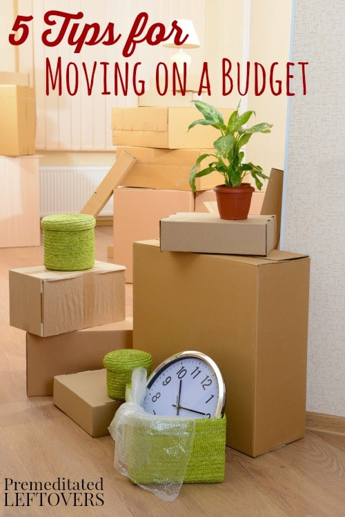 Five Tips For Moving On A Budget - King of Maids Blog