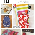 10 Back to School Patterns and Tutorials including back pack patterns, reusable lunch bag and sandwich bag patterns and a DIY Tablet Cover!