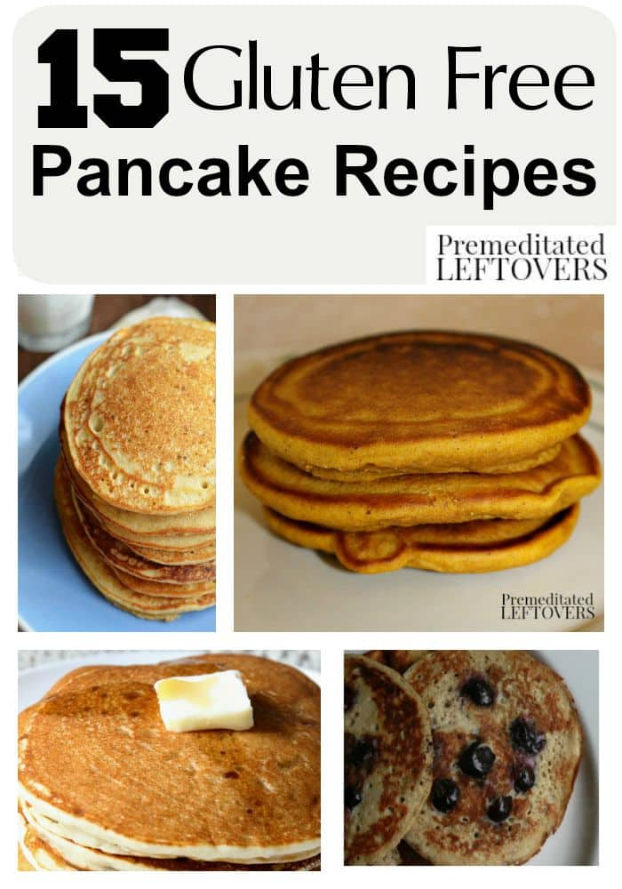 Gluten Free Pancake Recipes - There are lots of delicious gluten-free ...
