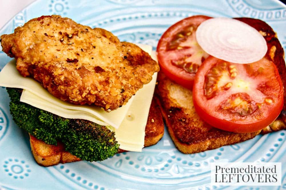Chicken, Broccoli and Tomato Sami