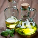 How to Use Basil Oil- Basil oil is fragrant and easy to make right at home. There are many beneficial ways to use it in the kitchen and with your health.