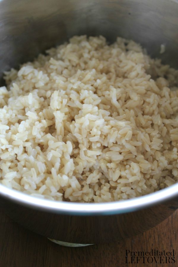 Rice for Stir Fry