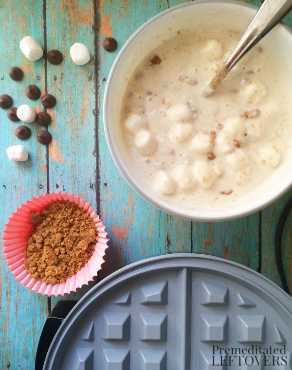 S'more Waffles Recipe Ingredients