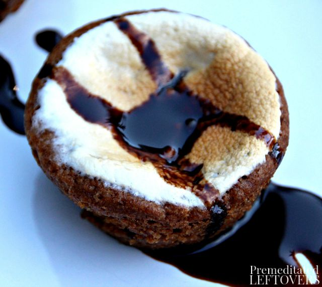 Smores Chocolate Chip Cups