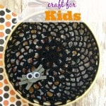 DIY Doily Spiderweb Craft for Kids- You can't have Halloween without a few spiderwebs, right? Create your own spooktacular web with this kid-friendly craft!