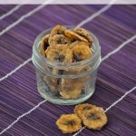 Peanut Butter Banana Chips-These chips are easy to make with the help of your food dehydrator. Add them to school lunches or your diaper bag when on-the-go.
