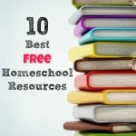 10 Best Free Homeschool Resources: Build a great homeschool with free printables, apps, and lesson plans. Games and fun places to visit are also included.