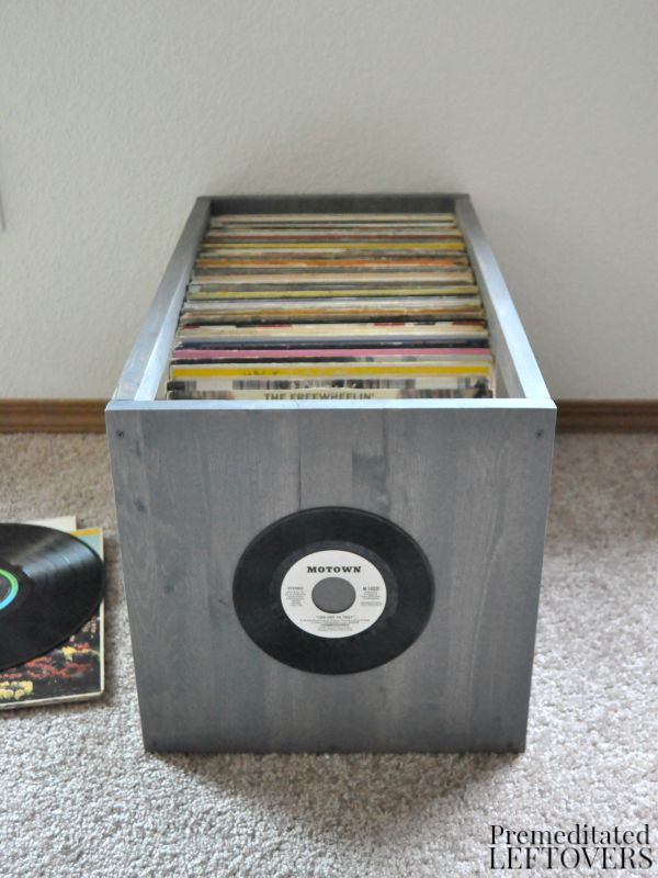 easy to build yet heavy-duty enough for your most coveted records. The open design makes it easy to flip through and identify titles from the top or sides.