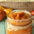 Spiced Pumpkin Butter- Enjoy your favorite fall spices in this homemade pumpkin butter. It is a perfect topping for ice cream or slathered over pancakes.