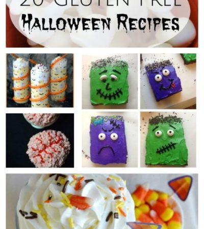 20 Gluten-Free Halloween Recipes- These Halloween recipes include gluten-free alternatives to the classics as well as fun new treats everyone can enjoy.