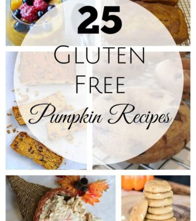25 Gluten-Free Pumpkin Recipes- No need to worry about missing out on your favorite fall treats when you can use these amazing gluten-free pumpkin recipes.