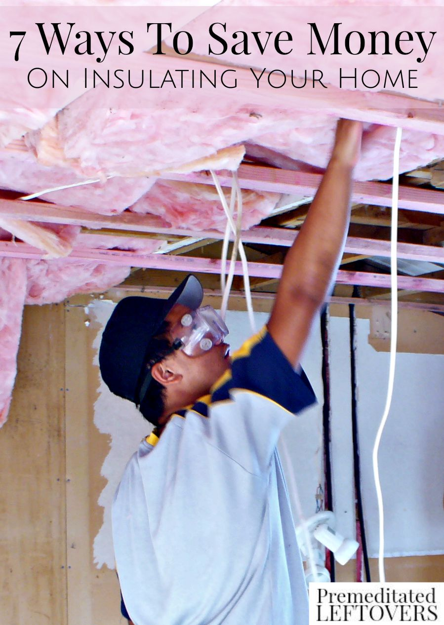 7 Ways to Save Money on Insulating Your Home- A few simple tricks can save you money and help maintain temperatures in your home by improving insulation.