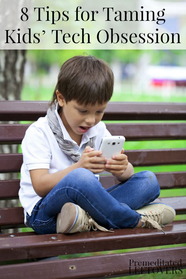 8 Tips for Taming Kids' Tech Obsession - Technology use is changing rapidly among children. Here are some guidelines to help limit your kids' screen time.