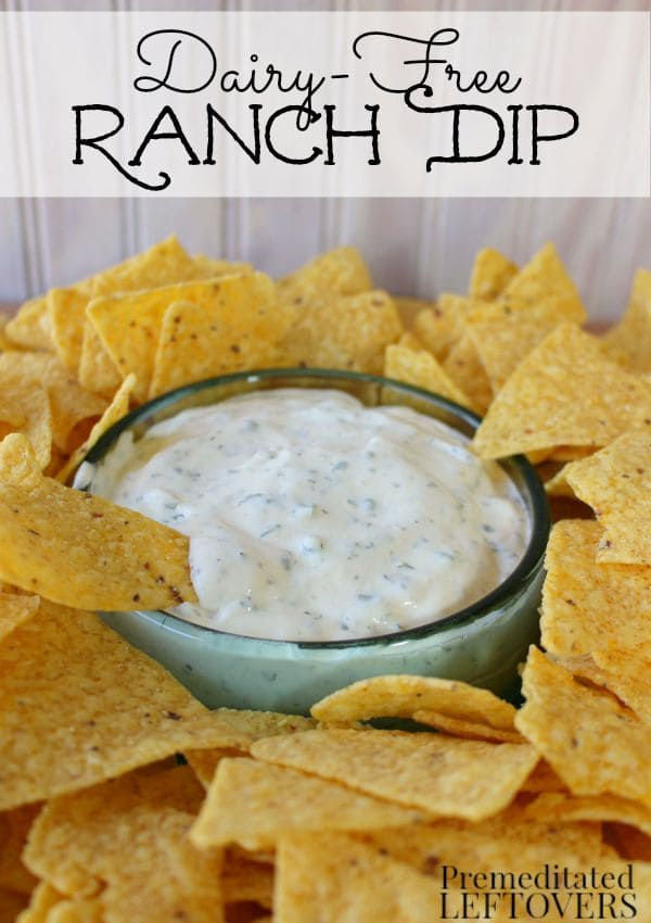 Easy Dairy-Free Ranch Dip Recipe