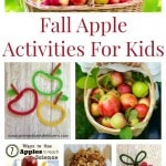 Fall Apple Activities for Kids