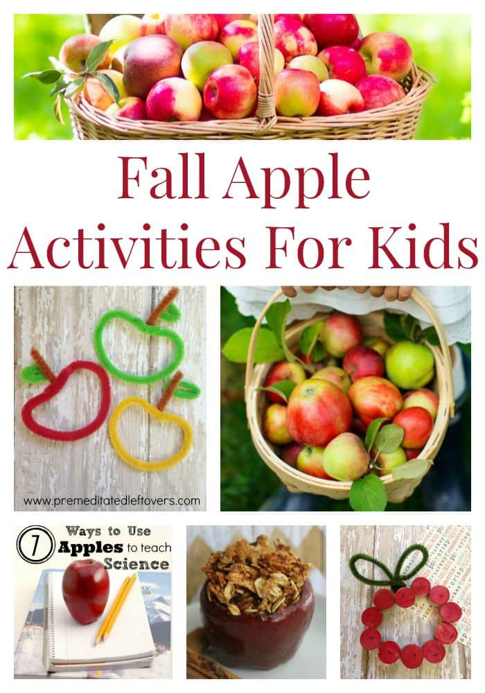 15 Fall Apple Activities for Kids