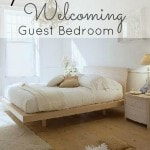 7 Tips for a More Welcoming Guest Bedroom