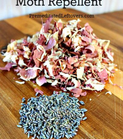 How to Make Natural Moth Repellent - Make your own substitute for moth balls with these directions for a natural, chemical-free, DIY moth repellent sachets.