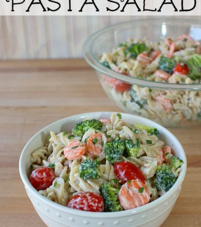 Meatless Ranch Pasta Salad Recipe