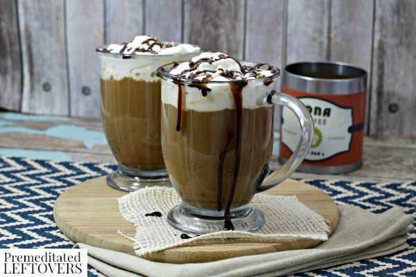 Mocha Cookie Crumble Latte
