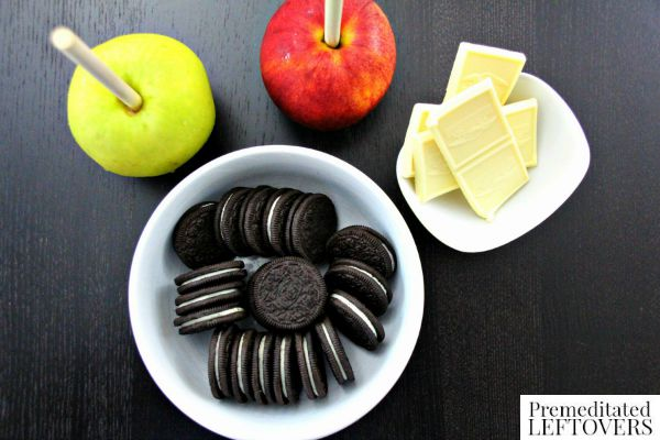 Oreo & White Chocolate Coated Apples ingredients