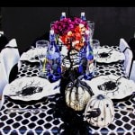 Owl Themed Halloween Tablescape