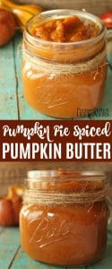Pumpkin Pie Spiced Pumpkin Butter Recipe